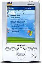 Il Pocket PC V35 di ViewSonic