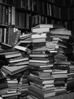 books in a stack (a stack of books) - austinevan