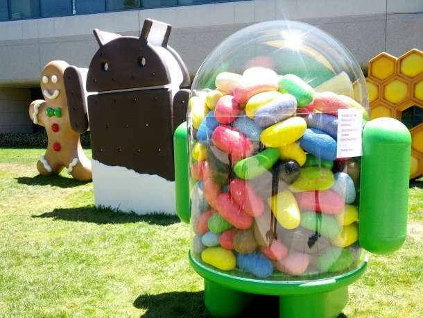 scultura jelly bean
