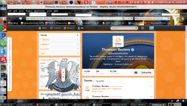account thompson reuters