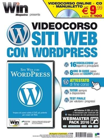 Videocorso Siti Web con WordPress