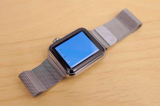 Windows 95 su Apple Watch