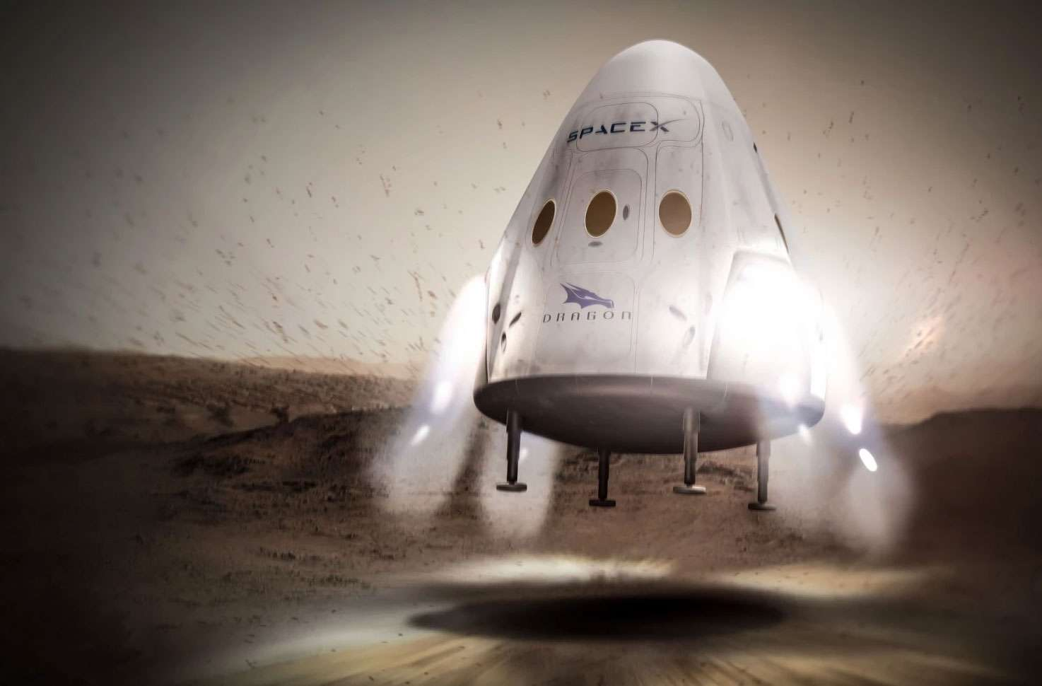 Capsula Red Dragon di SpaceX
