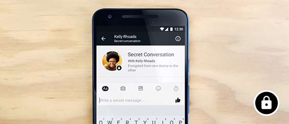 Facebook Messenger - Secret Conversations