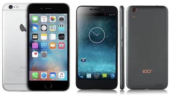 iPhone 6 e 100C a confronto