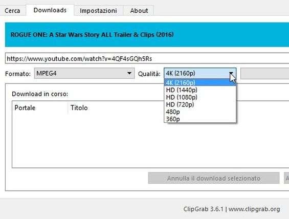 ClipGrab 3 6 1   Download e installazione