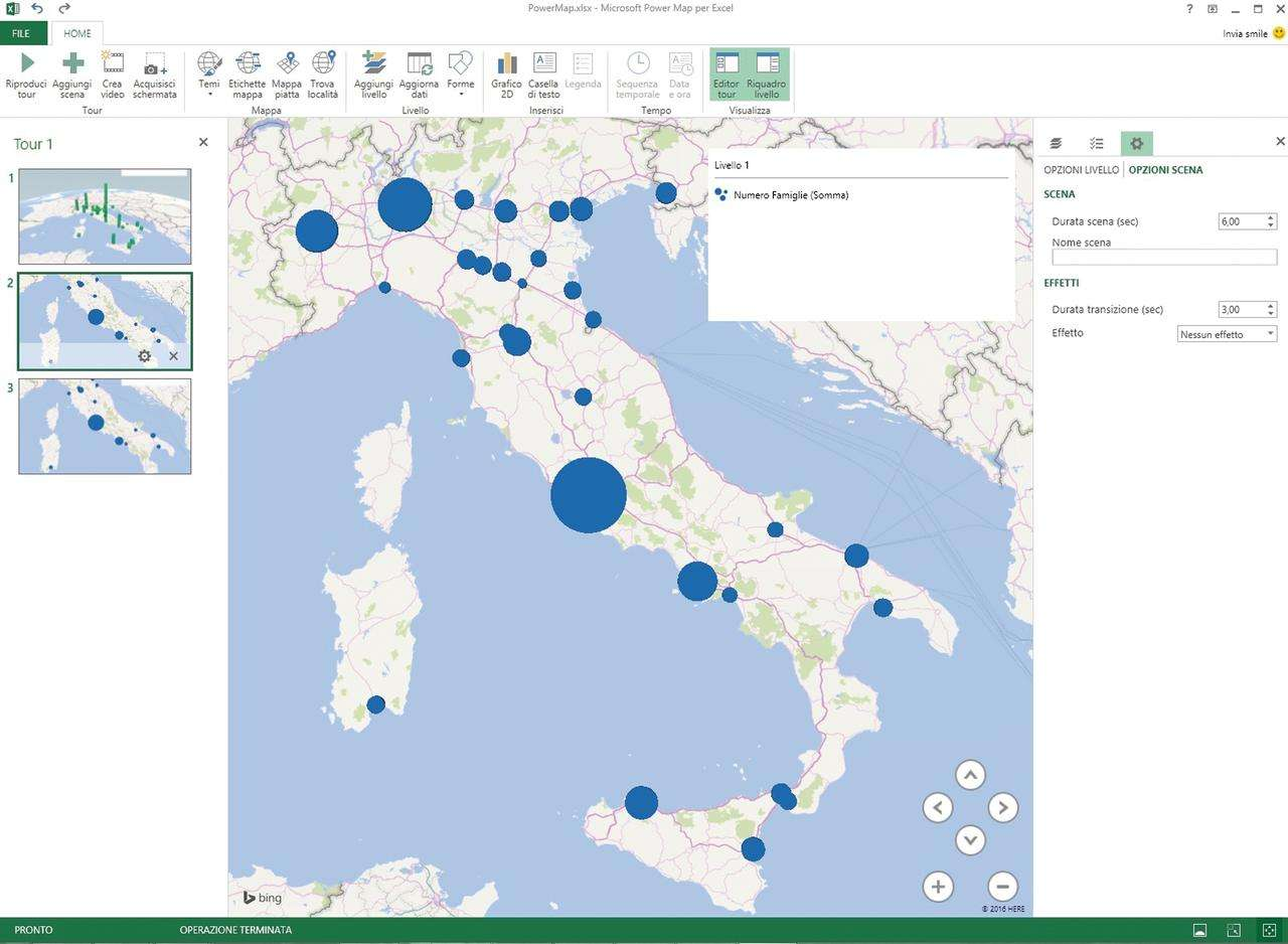 Cartina Italia Xls.Power Map Preview For Excel 2013 Download E Installazione