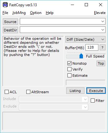 datazione file
