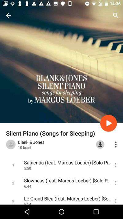 musica senza occupare memoria