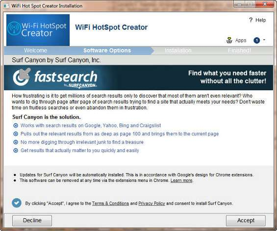 WiFi Hotspot Creator | Download e installazione