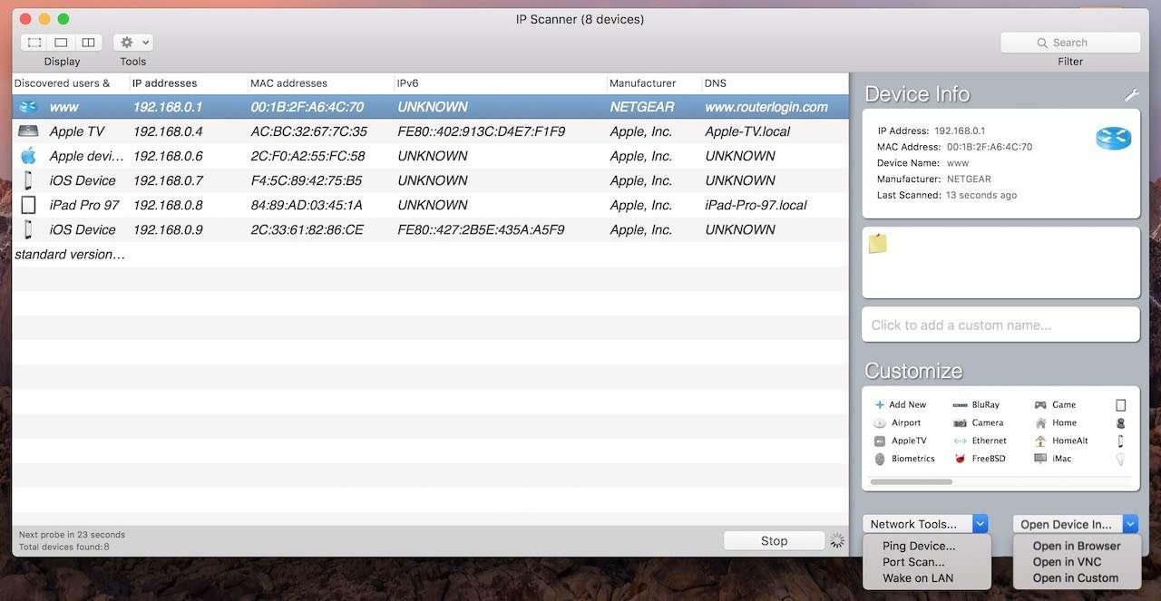 IP Scanner | Download e installazione