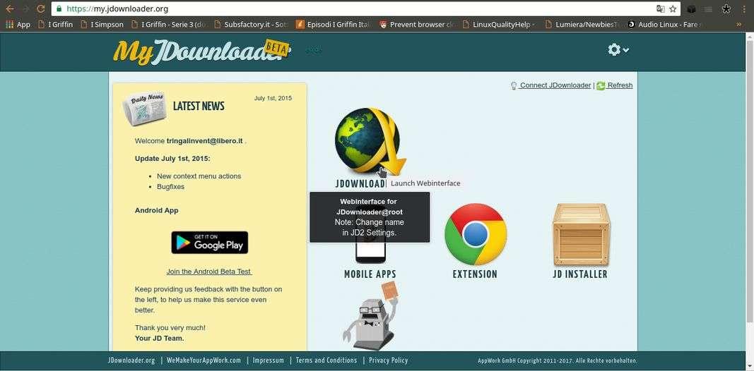 JDownloader2 Headless | Download e installazione