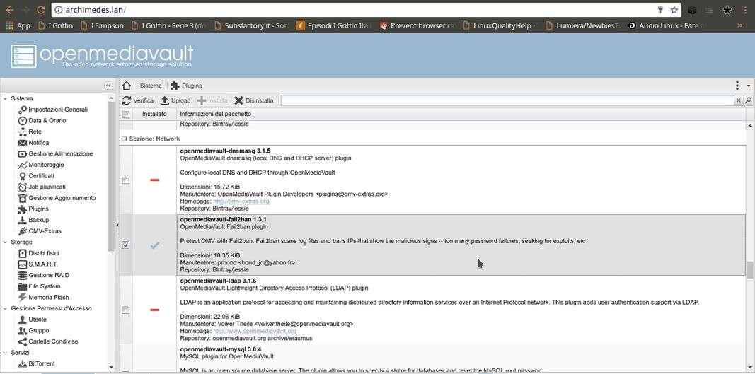 OpenMediaVault | Download e installazione