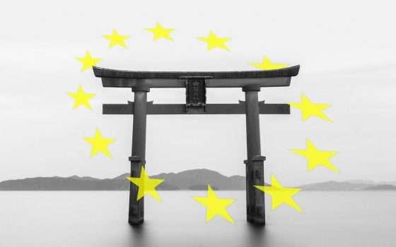 Europa e Giappone, merci e dati senza confini