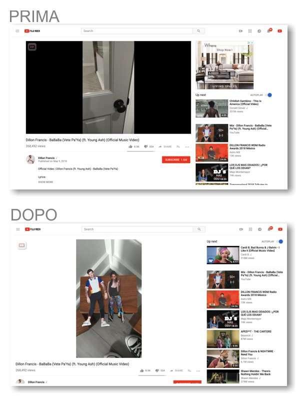 Video verticali su YouTube: prima e dopo
