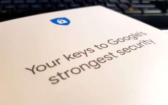 Titan Security Key: sicurezza chiavi in mano