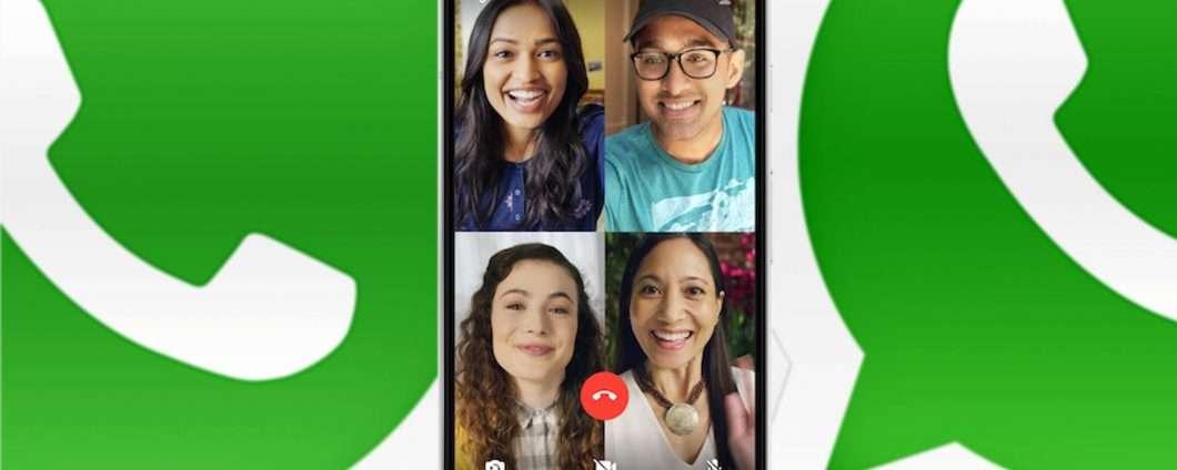 WhatsApp, chiamate e videochiamate di gruppo
