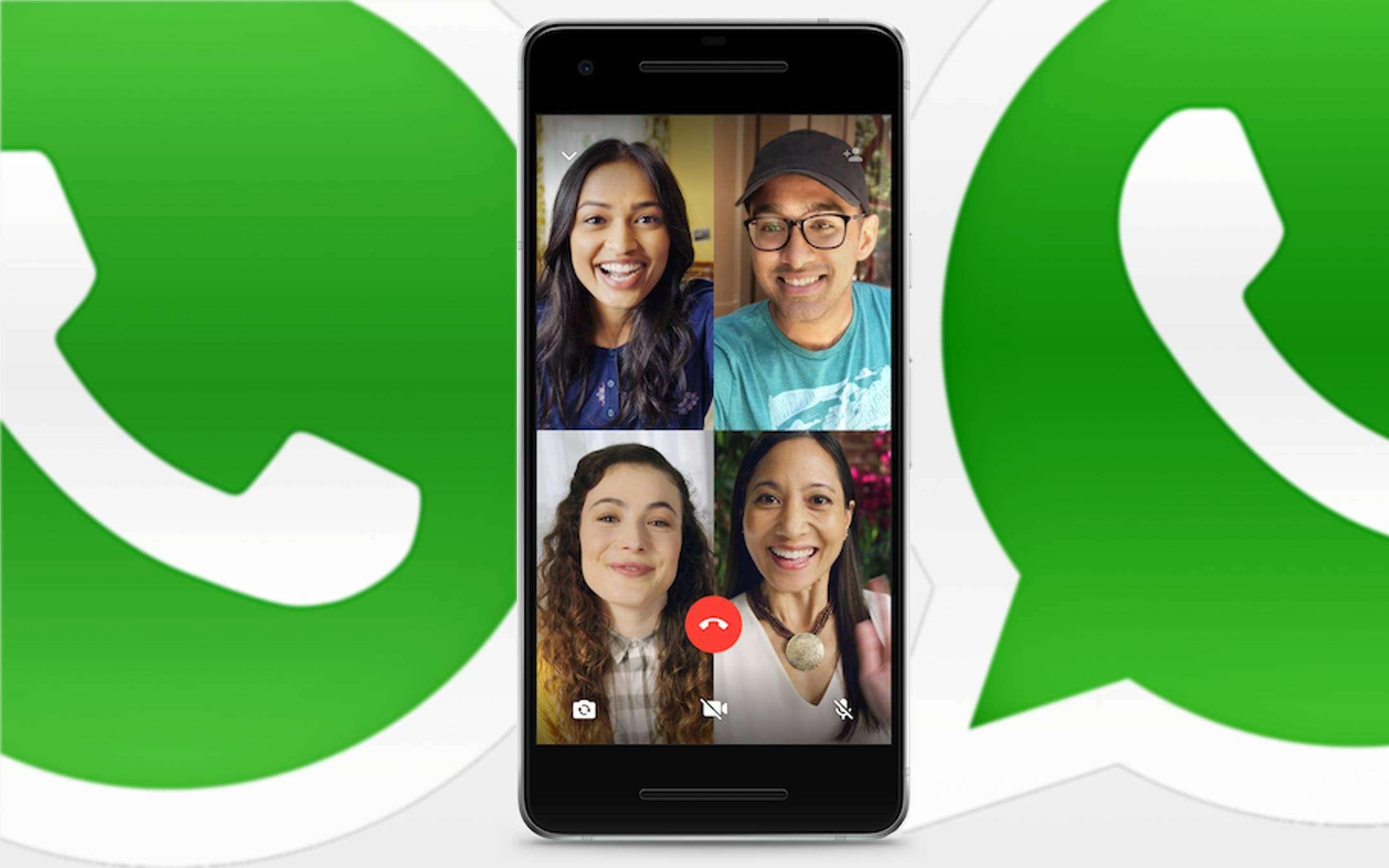 Videochiamata con WhatsApp