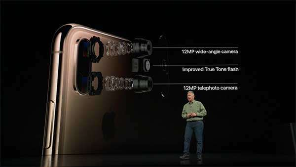 iPhone XS: le fotocamere