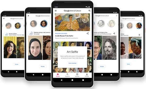 La funzionalità Art Selfie dell'app Google Arts & Culture fa il suo debutto ufficiale in Italia