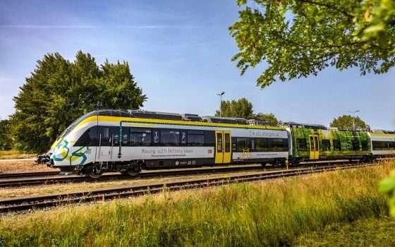 Germania: un treno elettrico per la sostenibilità