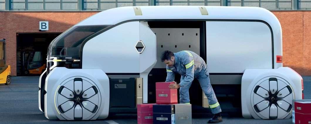 Renault EZ-PRO, la guida autonoma per le consegne