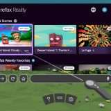 Firefox Reality, un browser in salsa VR