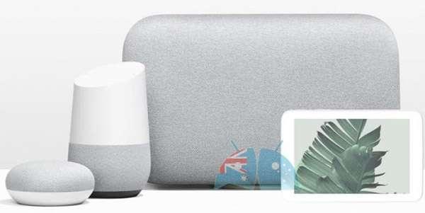 Google Home Hub e gli altri dispositivi della linea