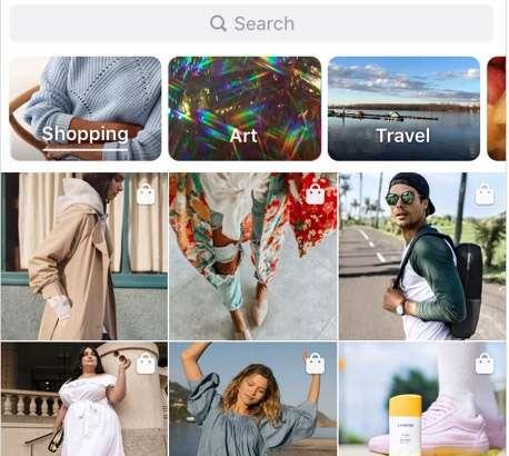 Instagram introduce la nuova sezione Shopping all'interno di Esplora