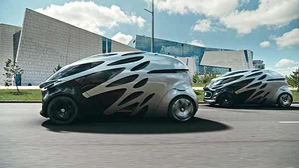 Il concept Vision URBANETIC di Daimler e Mercedes-Benz, per una nuova forma di mobilità