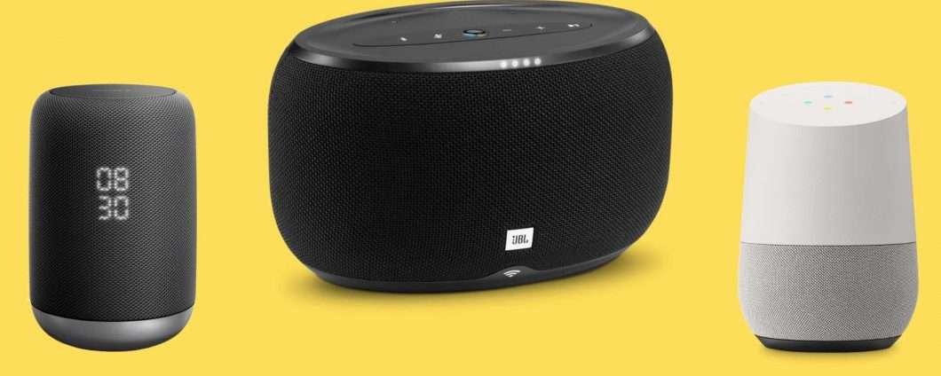 I migliori smart speaker con Google Assistant