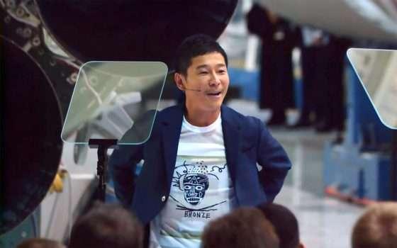 SpaceX: Yusaku Maezawa sulla Luna per #dearMoon