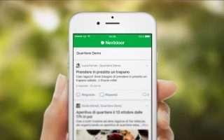 Nextdoor, c'è un'Italia che ne ha bisogno