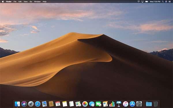 macOS Mojave: scrivania dinamica