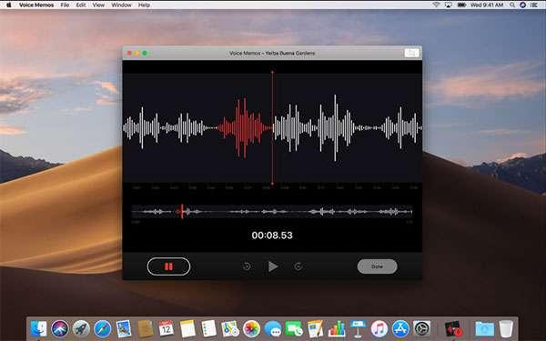 macOS Mojave: Memo Vocali