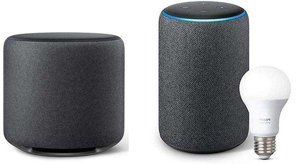 Amazon Echo Sub e Amazon Echo Plus