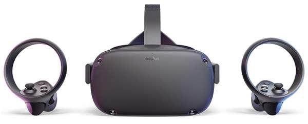 Oculus Quest e i controller