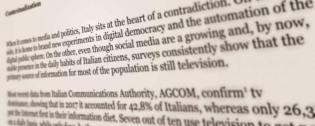 I dati e la politica, per prepararsi alle elezioni