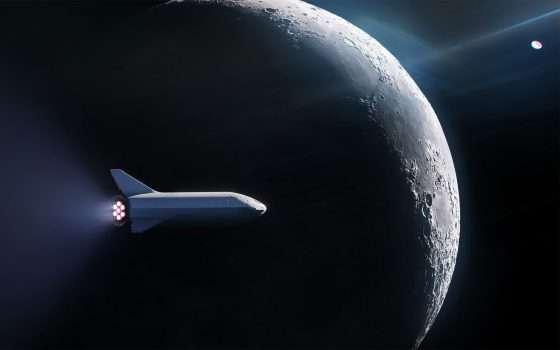 Turismo spaziale: SpaceX intorno alla Luna