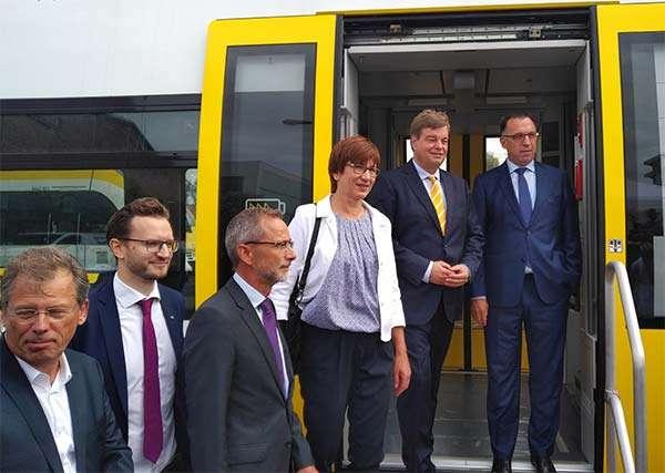 L'evento organizzato da Bombardier nella città tedesca di Hennigsdorf, alla presenza delle autorità