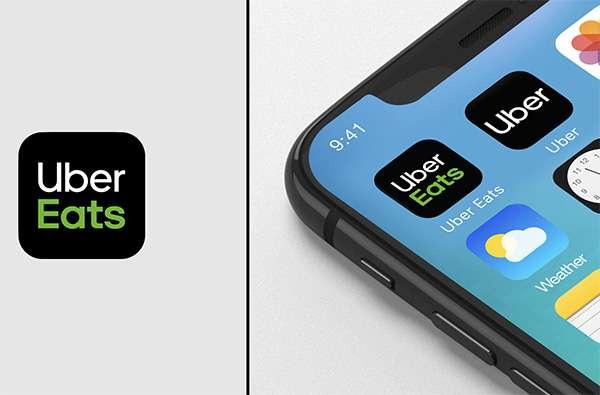 Le nuove icone delle applicazioni Uber