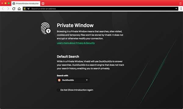Vivaldi conferma il proprio impegno nella tutela della privacy
