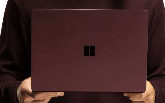 In arrivo un Surface Laptop 3 da 15 pollici?