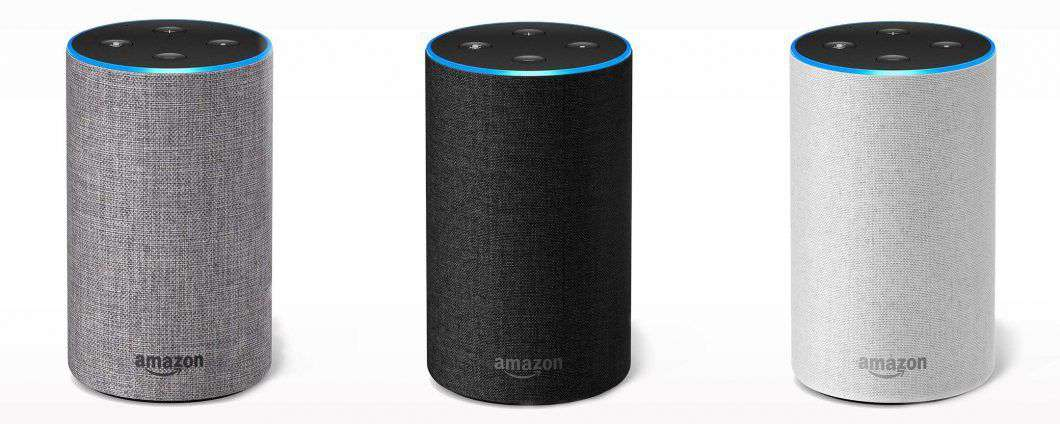 Gli speaker (e il display) Amazon Echo in Italia
