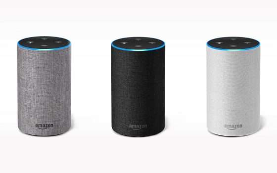 Gli speaker (e il display) Amazon Echo in Italia