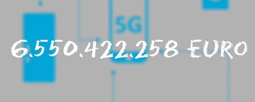 Le frequenze per il 5G valgono 6,55 miliardi