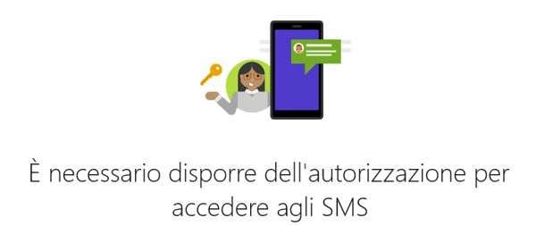 Autorizzazione SMS