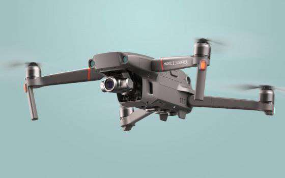 DJI Mavic 2 Enterprise, un drone modulare