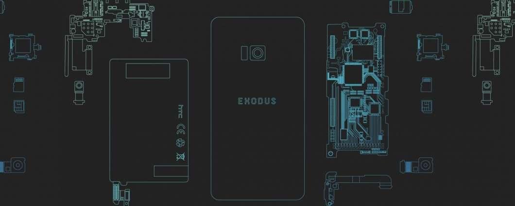 Smartphone e blockchain: HTC Exodus il 22 ottobre