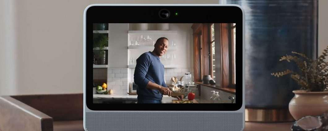 Portal è lo smart display di Facebook con Alexa